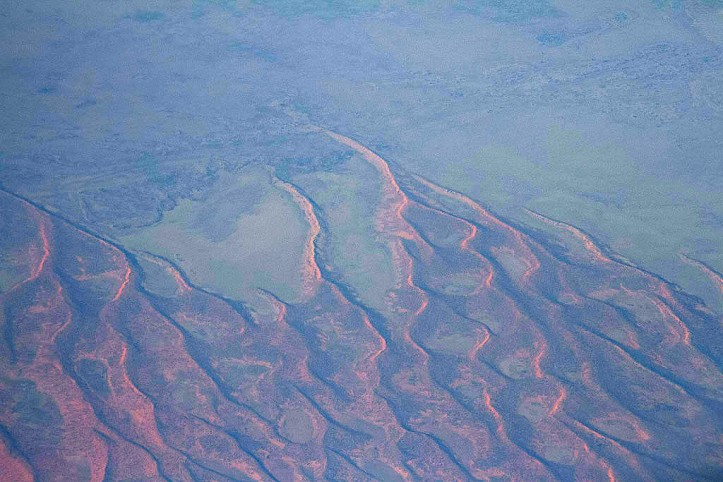 Earth scars
