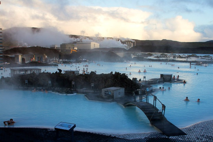 The Blue Lagoon in all her glory with room for all!