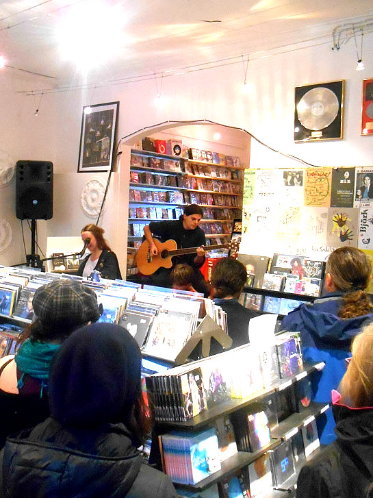 Record shop recordings